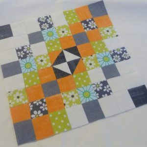 The Desperate Housewife's Quilt – Block 1  Eight Squared