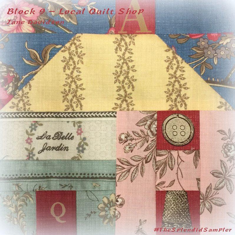 Block 9 - Local Quilt Shop by Jane Davidson