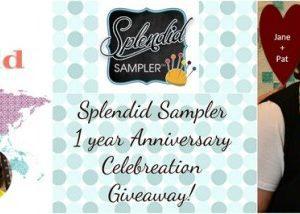 The Splendid Sampler Celebration Giveaway