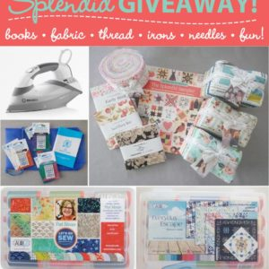 The Splendid Sampler book is here – Giveaway